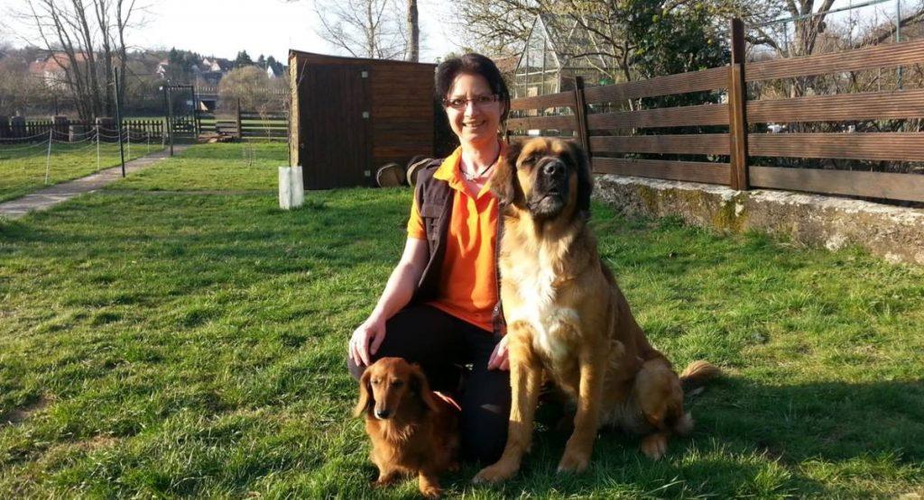 Hundetrainerin Heike Schneider