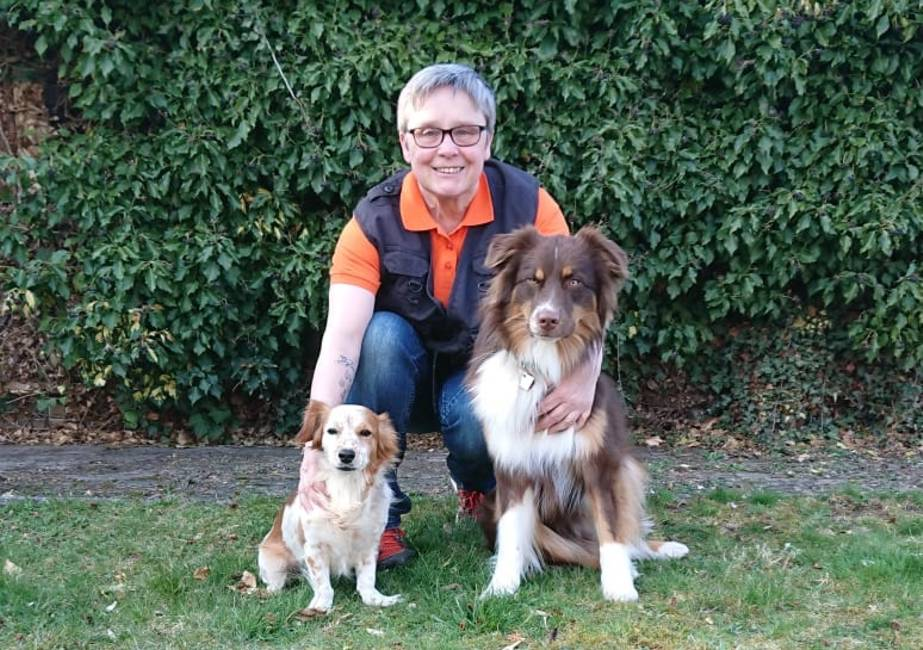 Hundetrainerin Rita Wagner-Schönfelder